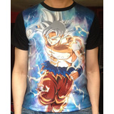 Camiseta Fortnite Freefire Goku Dragon Ball Gatillo Avengers