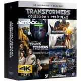 Peliculas Transformers Saga 4k 2160p Entrega Inmediata