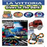 Pista De Carros Magic Trucks 165 Piezas Neon