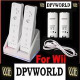 Cargador Controles Wii +2*2800mahbaterias Recargables Blanco