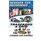 Vhs, Filmadora Hi8, Cassett De Musica, Lp A Dvd-cd