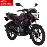 Moto Pulsar Ls135 Año 2018 135cc Color Negro