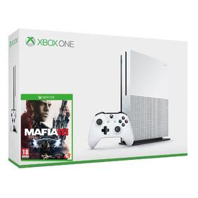Xbox One S 1tb Mafia 3, Assassins Creed Origins, Bluray 4k
