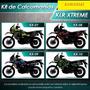 Calcomanias , Kawasaki Klr650,kl650,kawasaki,especial,import