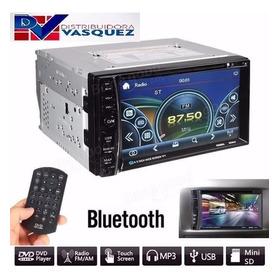 Radio Pantalla Doble Din Touch Bluetoth Mp5 Usb Fm Aux Sd Tv