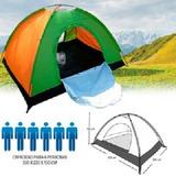 Carpa De 6 Personas Camping Y Aventura Impermiable Reforzada