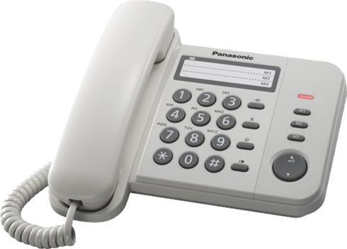 Tel fono panasonic kx ts520 para cabinas oficina casa for Mercadona telefono oficinas centrales