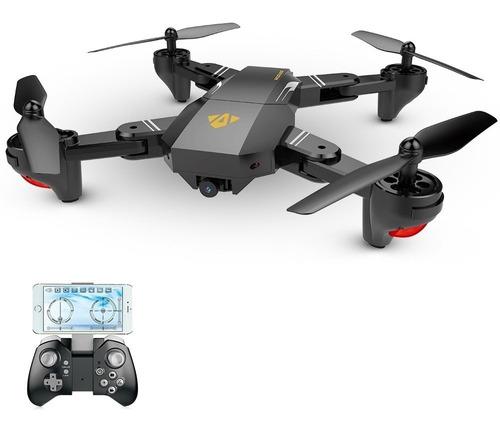 Drone Retractil Cazador Profesional Con Camara Wifi Hd720p