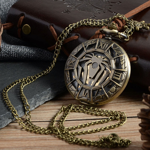 9a48c9407b14 Reloj Collar Coleccionable De Spiderman Marvel