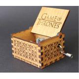 Game Of Thrones - Caja Musical De Manivela