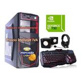 Cpu Gamer Intel Core I7 8va Gen 2tb 16gb Gt-730 4gb Computad
