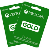 Xbox Live Gold 3 Meses Y Gift Cards Codigos