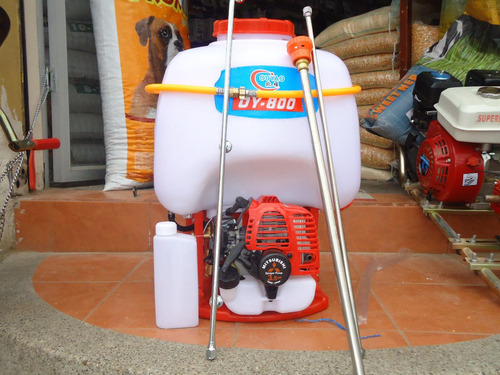 Bomba de fumigar a motor 3 5 hp mitsubishi de mochila - Mochila para fumigar ...
