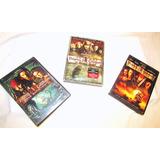 Trilogía Piratas Del Caribe 1 2 3 Dvd Original Special Edit