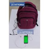 Mochila Apple Conexión Usb Audifonos Portalapto A Domicilio