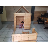 Casa Madera Desarmables  Juguetes Casitas Niños Infantil