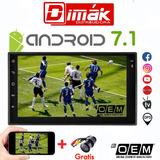 Radio/equipo Android 7.1 Oem /wifi,tv,gps,cd,blue, Garantía!
