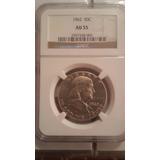 Moneda Certificada Half Dolar Medio Dolar Cicuenta Centavos