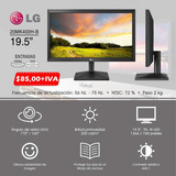 Monitor Computador  Monitor Pc LG 19,5 Pantalla Hd Cpu Dvr