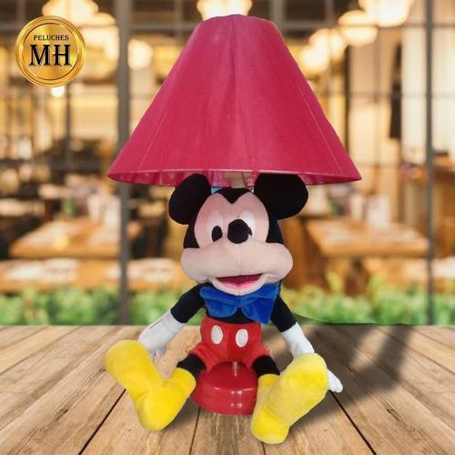 Lampara De Peluche Mickey, Minnie, Personajes De Disney