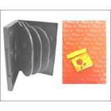 Promocioneslafamilia Cajas Estuches Plastico De 10 Cds Dvds