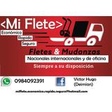 Fletes,mudanzas,logística, Envíos  Quito-guayaquil.