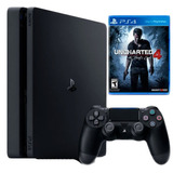 Ps4 Slim 500 Gb Uncharted 4 Edition - Combos A Elegir