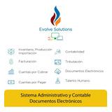 Sistema Administrativo Y Contable + Facturación Electrónica