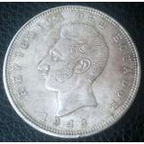 Moneda De 5 Sucres Ecuador Año 1943 Plata 720 (mexico)