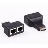 Cable Extender Extensor De Hdmi  30mts Full Hd Utp Cat 5/6
