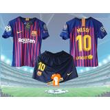 Camisetas  Niños - Conjuntos Barcelona, Psg, Juventus, Etc