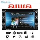 Radio De Auto Aiwa Touch - Bluetooth Usb Dvd + C A M A R A !