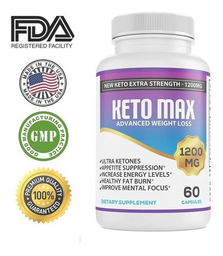 Keto Max 1200mg Originales Americanas 1 X 40$3 X 100$