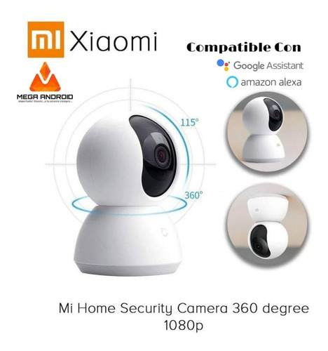 Camara De Seguridad Xiaomi 1080p Full Hd Vision Nocturna