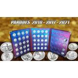 Álbum Para Monedas 0,25 Ctvs Americanos