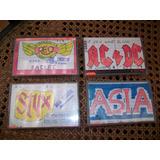 Antiguos Cassettes De Música En Ingles, Precio Unitario