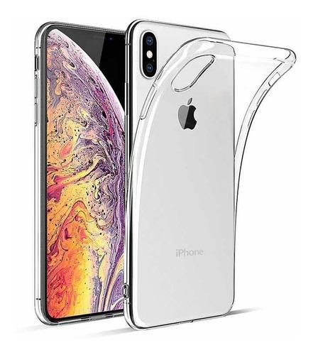 0c5aaf61c3c Estuche Transparente iPhone Xs, iPhone Xs Max Anti Golpes
