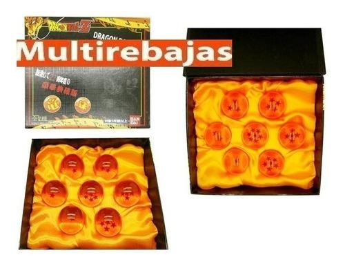 Caja Original Colección 7 Esferas Del Dragon Ball Goku Anime