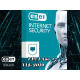Eset Antivirus Internet Security | Licencia Para 1 Pc, 1 Año