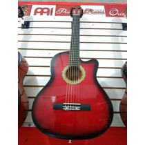 Guitarra Electroacústica Nashville C/forro Y Vitela