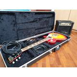 Guitarra Eléctrica Freedom + Estuche Rígido + Amplificador