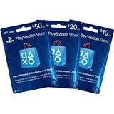 Tarjeta Playstation Network Psn Card Usa $50 $20 - España