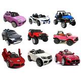 Carros A Bateria Importados Varios Modelos Para Ninos $199