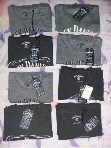 9cf1fbcf44 Camisetas Jack Daniels Hombre Tallas X- X L Producto Oficial