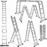Escaleras Aluminio 4.8 M 11 Posiciones Promocioneslafamilia