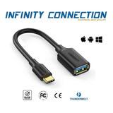 Cable Adaptador Usb C A Usb  Macbook Samsung Dell iPad Mac