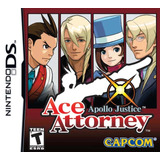 Apollo Justice Ace Attorney Juego  Nintendo Ds