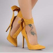 Zapato Agutier Tacos Puntudos Para Dama