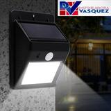 Lámpara Led De Energía Solar Con Sensor De Luz Y Movimiento