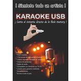 Karaoke Profesional Usb 7700 Temas + Listado Y Accesorios.